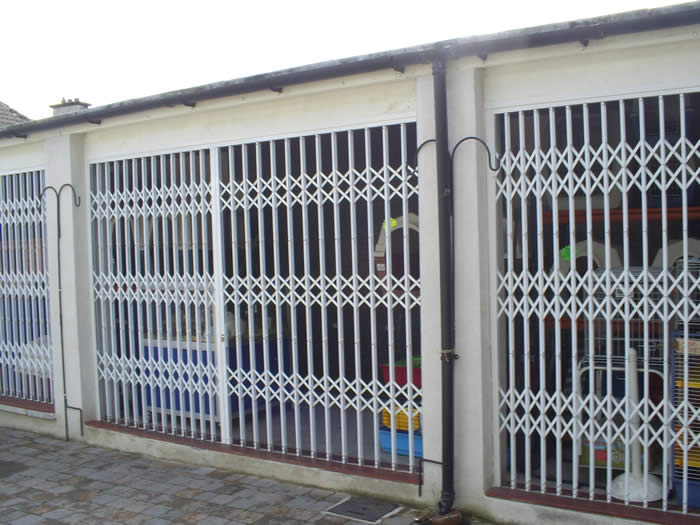 Security Grilles Trellidor Security Folding Grilles Ace
