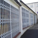 Trellidor Security Gate protecting a shop front