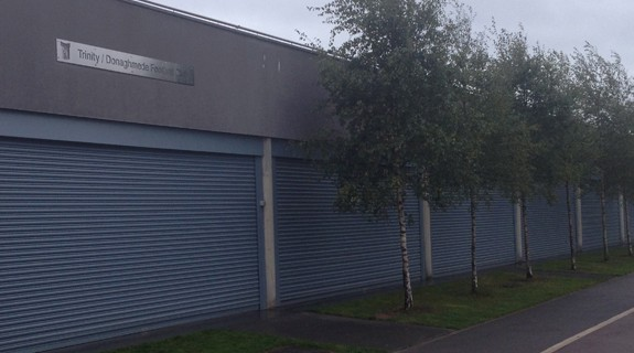 Roller Shutters securing a club house